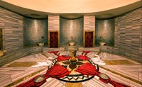 Traditional Turkish Bath in the Spa