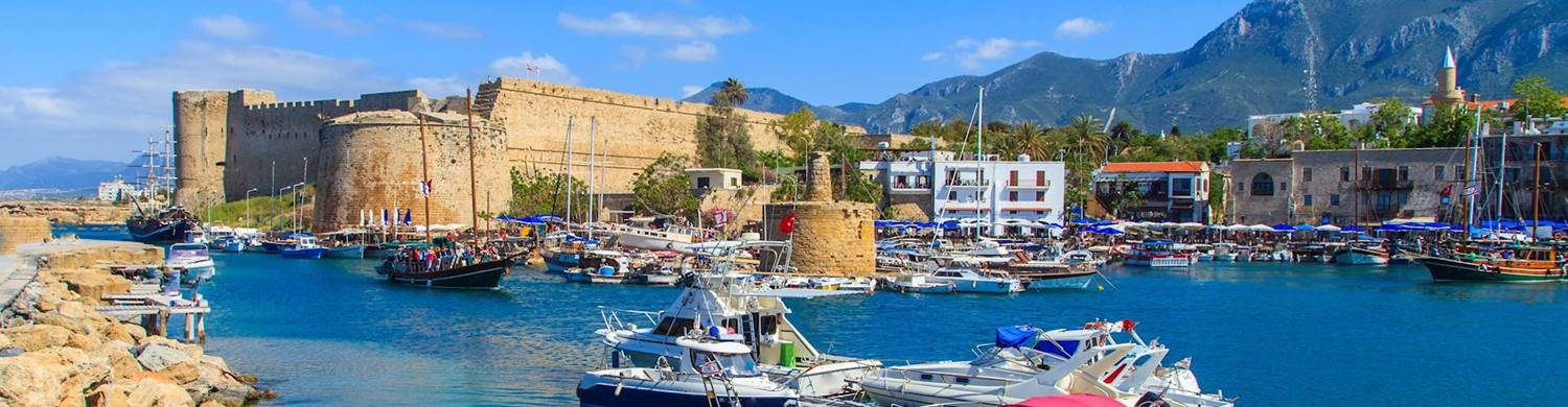 kyrenia harbour lovely view
