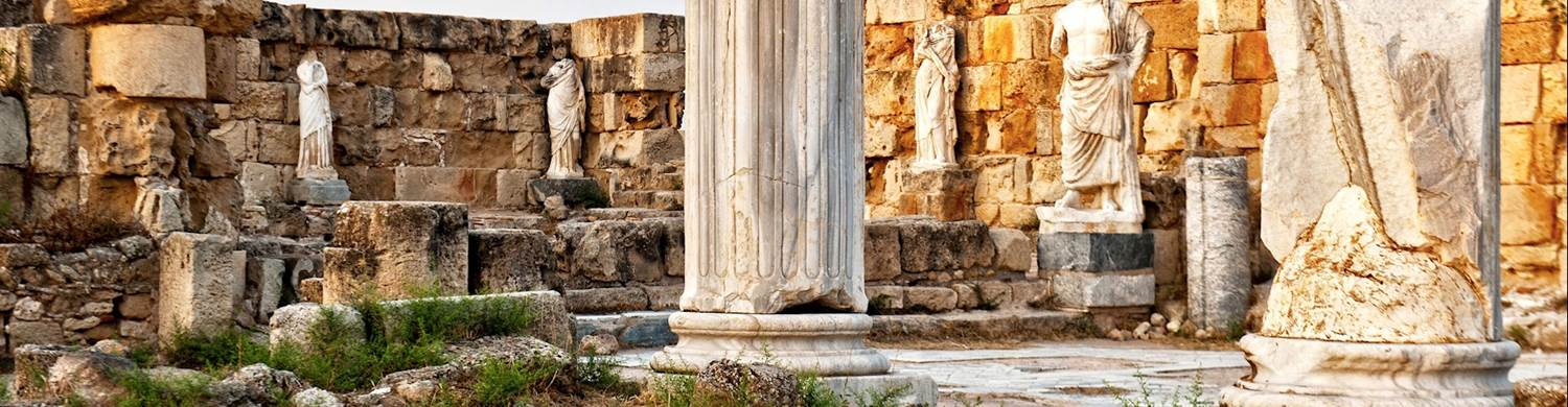 salamis ruins famagusta historical