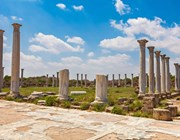 salamis ruins famagusta north cyprus
